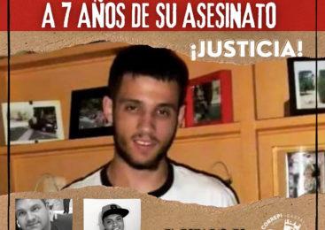 ¡Justicia por Andrés García Campoy. Presente!