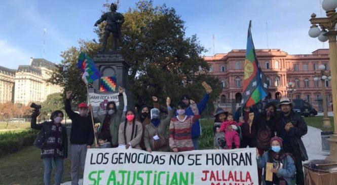 Los genocidas no se honran, se ajustician! Jallalla Manuá!!!