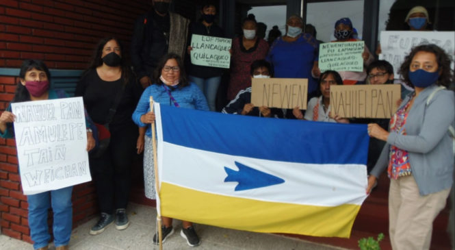 Nahuelpan: ¡Otra vez intentan alambrar una comunidad!