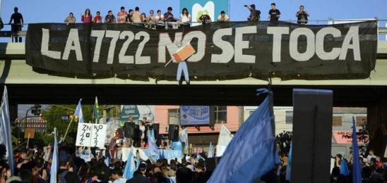 """Mendoza: 7722 """"Ley guardiana del agua"""""""