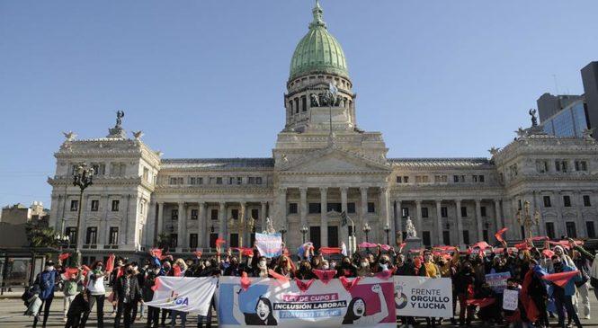 La inclusión laboral travesti trans es ley en Argentina