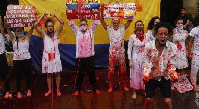 El régimen paramilitar colombiano ordena el genocidio juvenil para desmovilizar el Paro Nacional