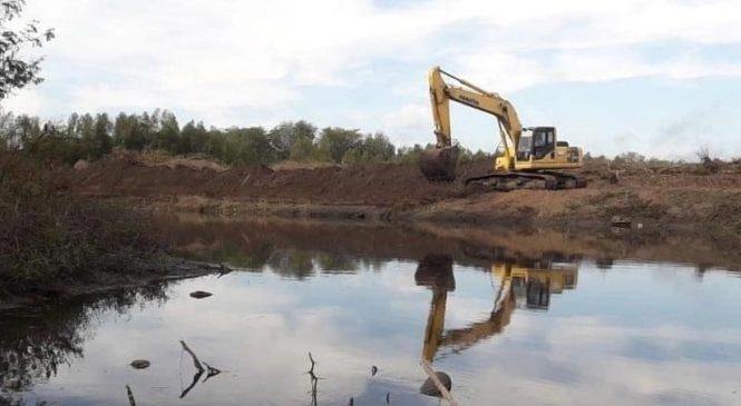 Ambientalistas van a la Justicia para que se frenen las obras en el Río Luján