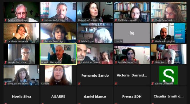 Chubut: Organizaciones de DDHH se reunieron con el Secretario de Derechos Humanos de la Nación