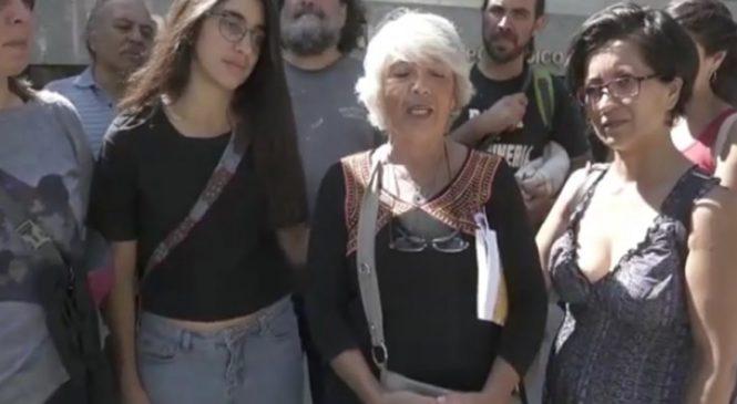 """""""Todos somos Nora"""": no a la criminalización de activistas por defender la ley 7722"""