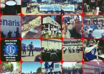 Trabajadores de Tenaris Siat resisten avanzada del Grupo Techint