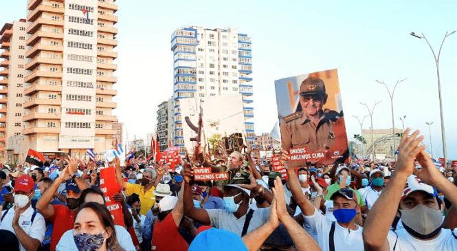 Cuba: Masivas movilizaciones este sábado en defensa de la Revolución y contra el bloqueo