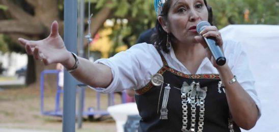 Mirta Millán, en un espacio de articulación con perspectiva de género y diversidad cultural