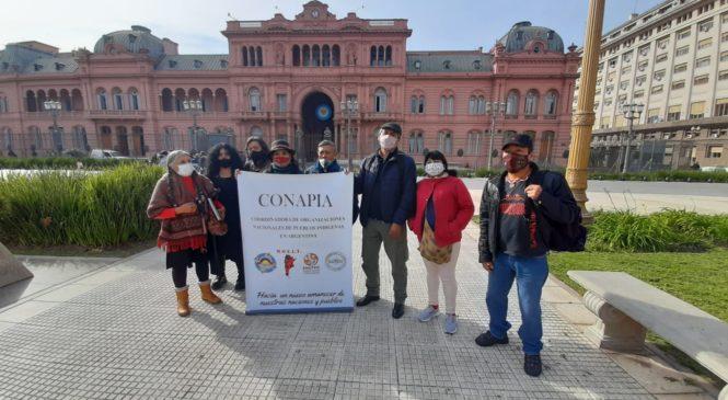 Organizaciones indígenas nacionales se reunieron con autoridades del Gobierno Nacional