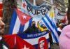 CABA: organizaciones populares abrazaron la embajada de Cuba