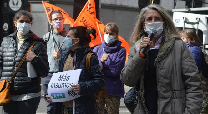 Jornada Nacional de Lucha: Piden una paritaria nacional de salud