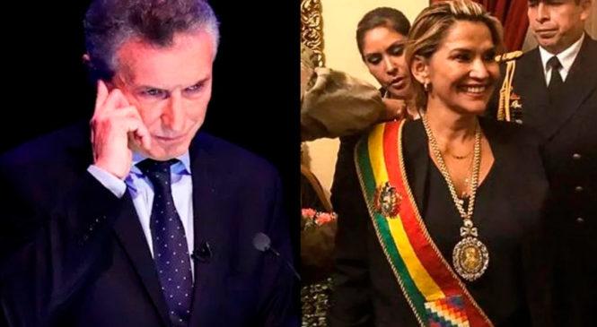 Macri denunciado por complicidad con el golpe de Estado en Bolivia