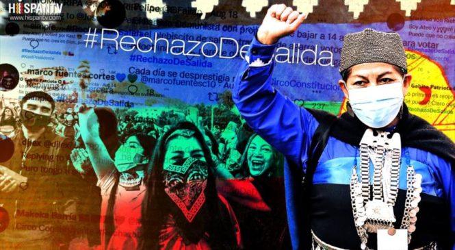 El ejército bot en Chile para el rechazo anticipado
