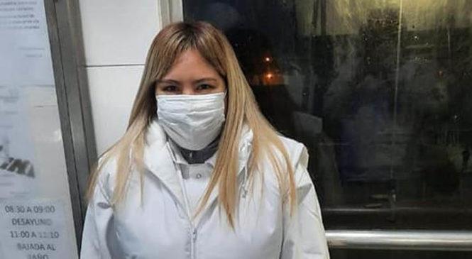 Mayra volvió a trabajar en el Frigorífico Rioplatense