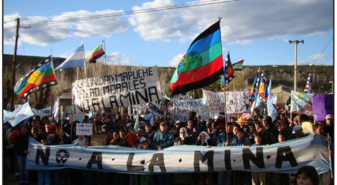 """""""El extractivismo es una de las formas más violentas de arrasar el territorio"""""""