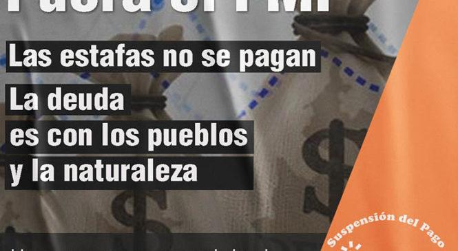 Jornada de Difusión ¡Fuera el FMI!