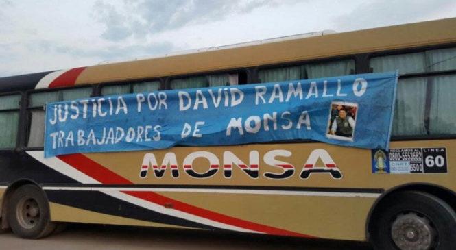 La Línea 60 en estado de asamblea permanente ante el intento de cerrar la causa por el crimen laboral de David Ramallo
