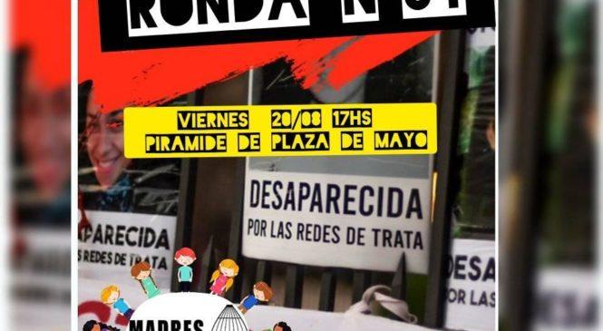 Marcha 54 contra La Trata en Plaza de Mayo
