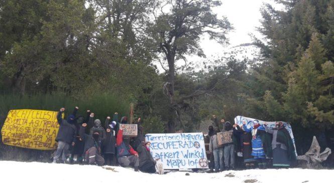 Siete mapuche a juicio oral y público por la causa madre del conflicto Mascardi