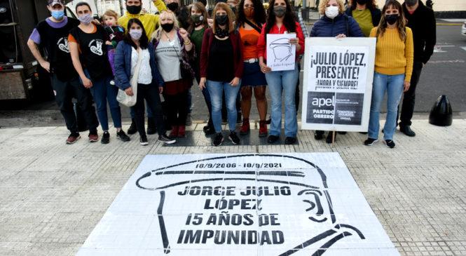 15 años sin Jorge Julio López