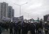 Trabajadores despedidos de EMA Servicios realizaron un corte en el Puente Pueyrredón