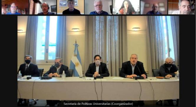 Hubo acuerdo en la reunión de revisión de la paritaria de la docencia universitaria y preuniversitaria