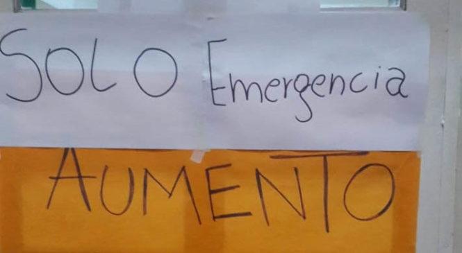 Alto acatamiento en el paro de trabajadores de la salud de La Rioja