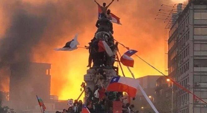 A dos años del inicio de la rebelión en Chile por justicia y dignidad