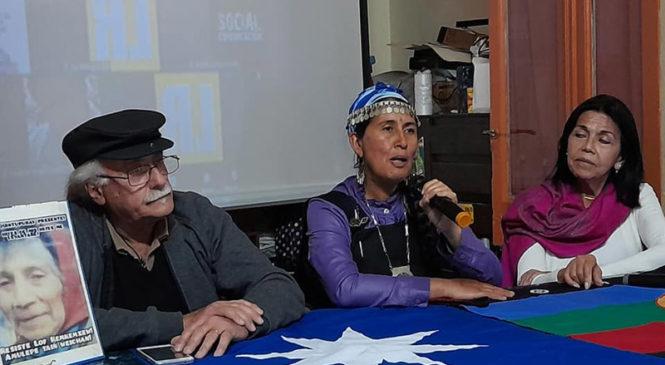Nación Mapuche. S.O.S. Quemquemtrew: conferencia de prensa con comuneros y defensores de Derechos Humanos