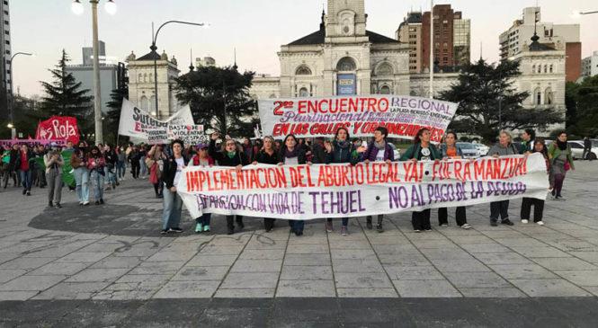 Marcha del Segundo Encuentro Plurinacional de La Plata, Berisso y Ensenada